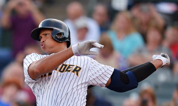 New York Yankees third baseman Alex Rodriguez will be allowed to play while he appeals his upcoming Major League Baseball-issued suspension.