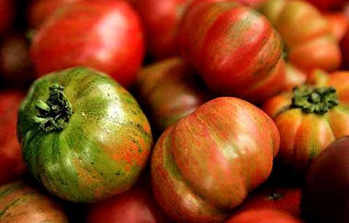 1. Gazpacho from heirloom tomatoes