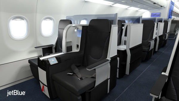JetBlue is scheduled to offer lie-flat seats next spring.