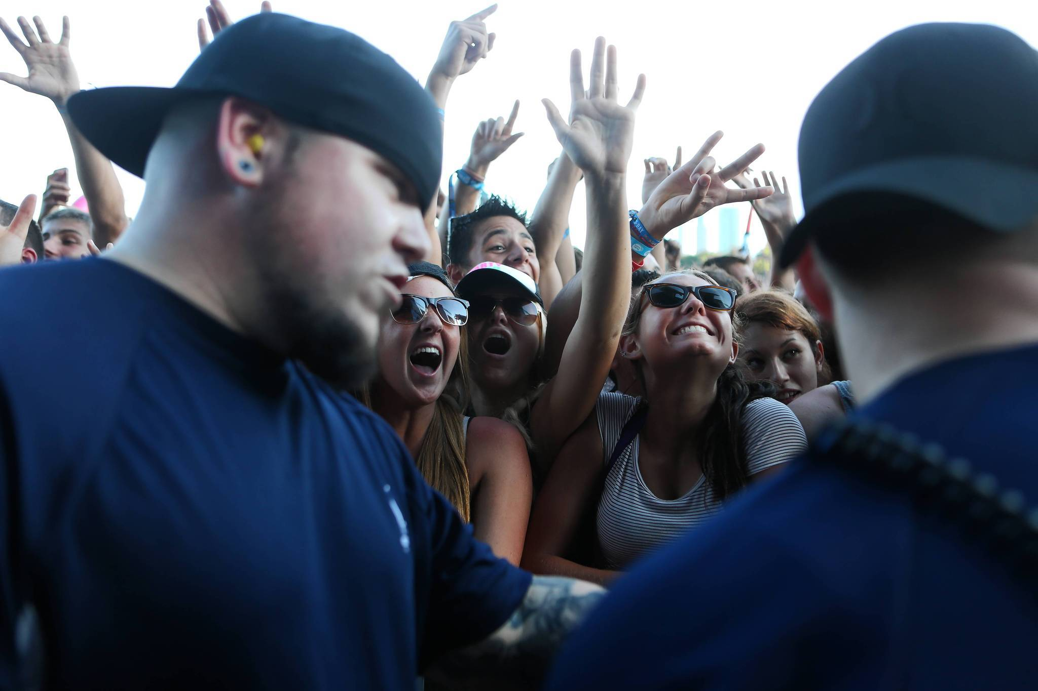 Photos: 2013 Lollapalooza Day Two - Kendrick Lamar fans
