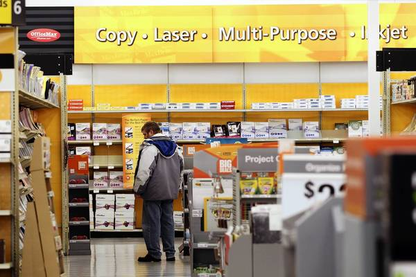 With merger of OfficeMax and Office Depot, state and local officials work to keep strong presence in Naperville.