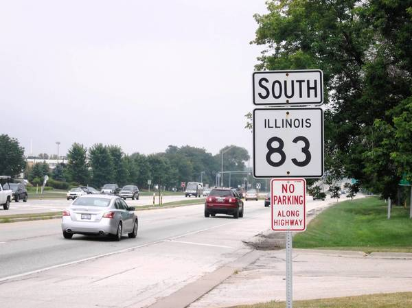 Illinois Route 83 in Willowbrook won't be repaved for at least a few more years.