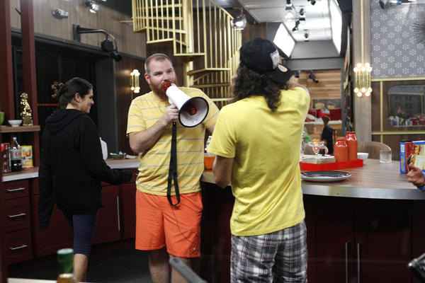 "A scene from Sunday night's episode of ""Big Brother."""