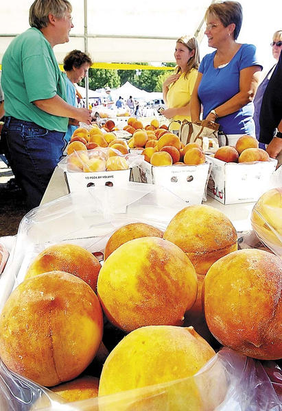 Leitersburg Peach Festival features food, fresh peaches, peach pies and peach ice cream. Crafts, petting zoo, antique tractors, quilt raffle, pony rides, peach pie contest and more. Sponsored by Leitersburg Ruritan Club. 10 a.m. to 5 p.m. Saturday, Aug. 10, and noon to 5 p.m. Sunday, Aug. 11. Leitersburg Ruritan Community Park, behind Leitersburg Fire Hall, Leitersburg. Free admission and parking. Call 301-733-0231.