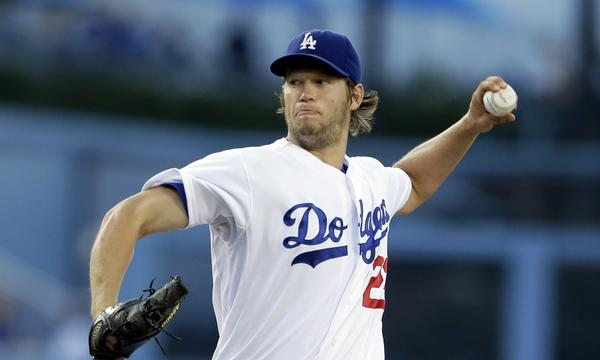 Dodgers starter Clayton Kershaw went 4-1 with a 1.34 earned-run average over the month of July.