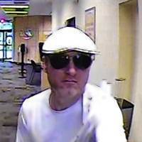 Surveillance photo of the suspect in an Aug. 5 Park Ridge bank robbery.