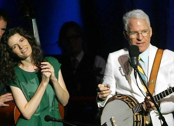Steve Martin and Edie Brickell are on tour together.