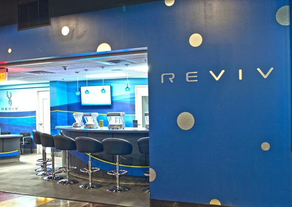 REVIV at MGM Grand offers intravenous and other therapies to aide people who have overindulged during their visits to Las Vegas.