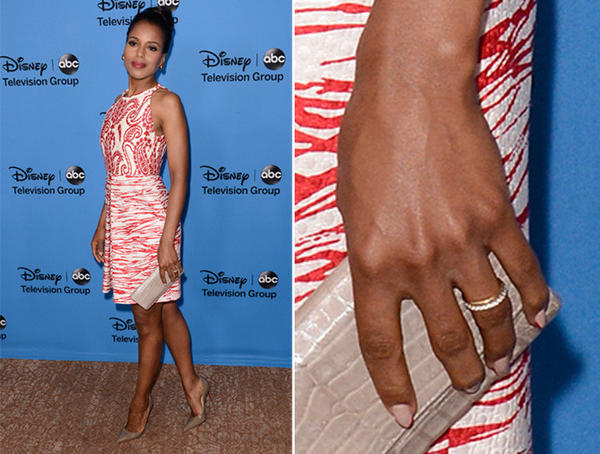 Kerry Washington's wedding ring