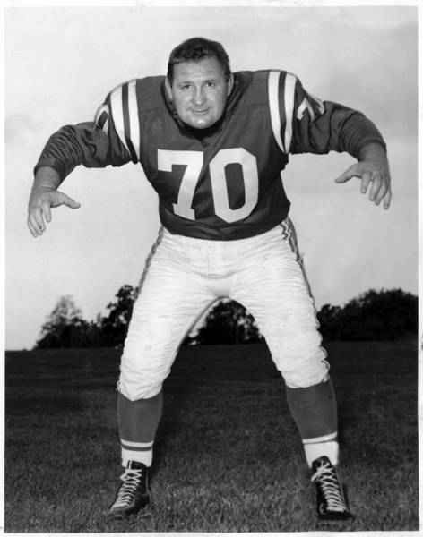 Art Donovan was a defensive lineman for the Baltimore Colts whose hilarious stories about his football career enabled him to maintain his popularity long after his retirement and election into the Pro Football Hall of Fame.