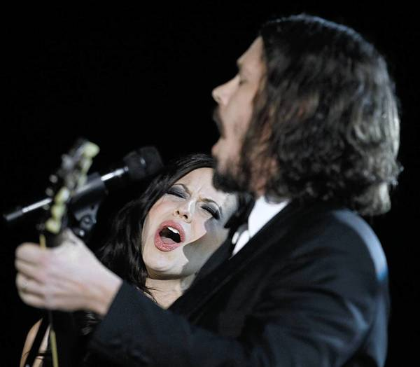 Joy Williams and John Paul White of Tthe Civil Wars in happier times.
