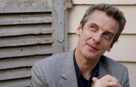 "Peter Capaldi is the new star of ""Doctor Who"""