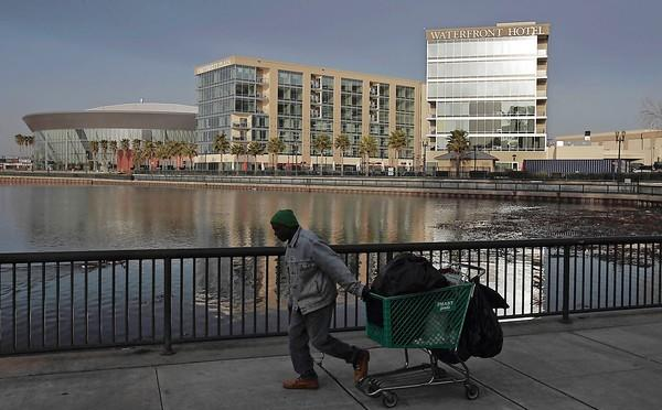 Stockton's arena and waterfront hotel project failed to revitalize Stockton's economy.