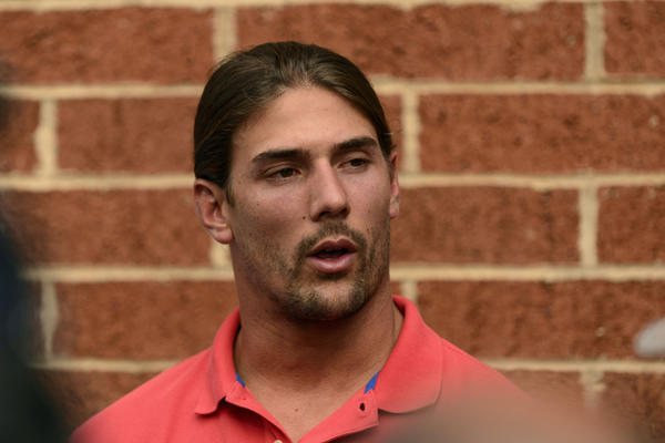 Philadelphia Eagles wide receiver Riley Cooper is back with the team after undergoing counseling.