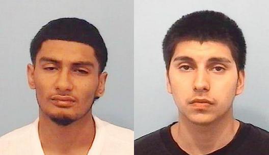 Jose Ricardo Hernandez (left) and Edwardo Correa Hernandez.