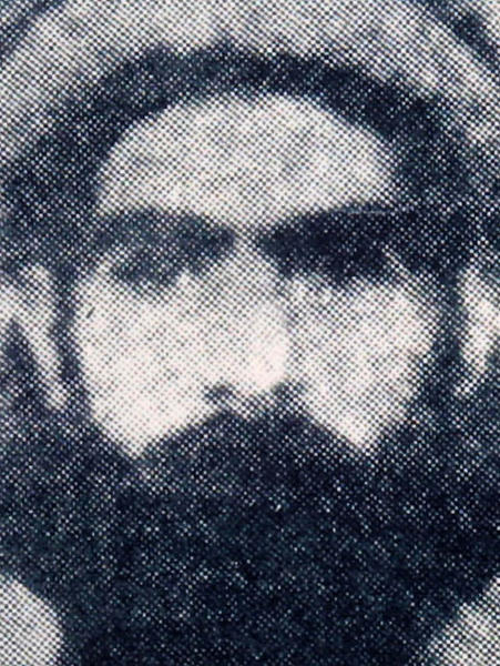 A photo reportedly shows the Afghan Taliban leader Mullah Mohammad Omar.