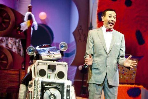 Paul Reubens as Pee-wee Herman in the Club Nokia revival of the cult TV show.
