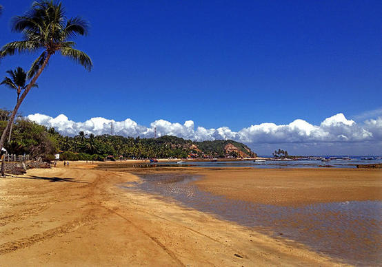 """Third Beach"" at Morro de Sao Paulo."