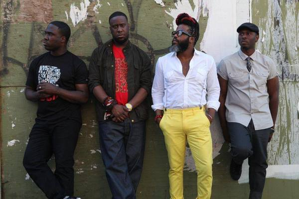 Robert Glasper, second from left, will release a new album with his band the Robert Glasper Experiment on Oct. 29.