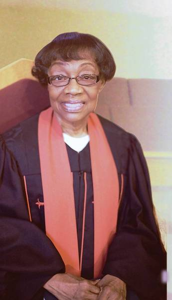 The Rev. Lucille Lewis Jackson