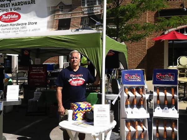 Keith Morgan had owned Lake Forest Hardware since the early 1990s.