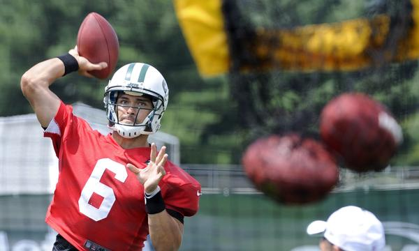 Mark Sanchez understands he'll need to take criticism in stride if he's going to successful in becoming a better quarterback for the New York Jets.