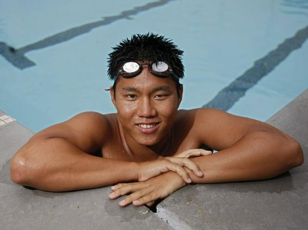 Crescenta Valley High senior Young Tae Seo, was named the All-Area Boys' Swimmer of the Year. (Raul Roa/Staff Photographer)