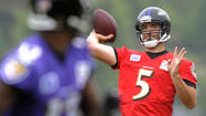 Joe Flacco says Ravens will find a way to overcome losses of Pitta, Boldin