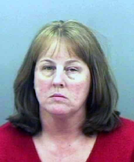 Karla Porter of White Marsh is accused of ordering a man to kill her husband at a Towson gas station.