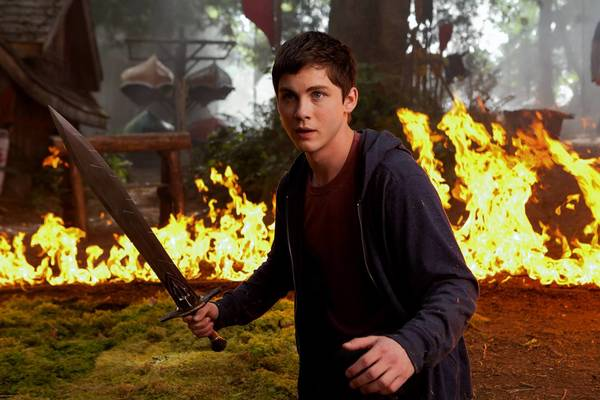 "Logan Lerman stars in ""Percy Jackson: Sea of Monsters."""