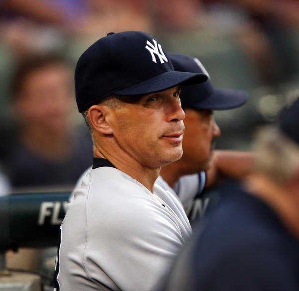 Yankees manager Joe Girardi during the second inning of his team's game against the White Sox on Tuesday.