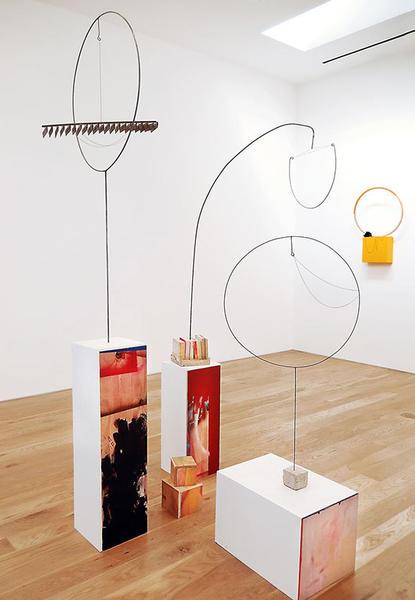 "Alison O'Daniel, ""Quasi-Closed Captions,"" installation view, 2013."