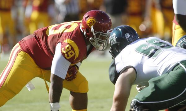 USC nose tackle Antwaun Woods