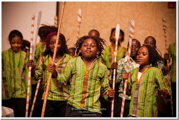 Members of Destiny Africa perform during a show. The group from Uganda will perform at the Avon Congregational Church on Sept. 15.