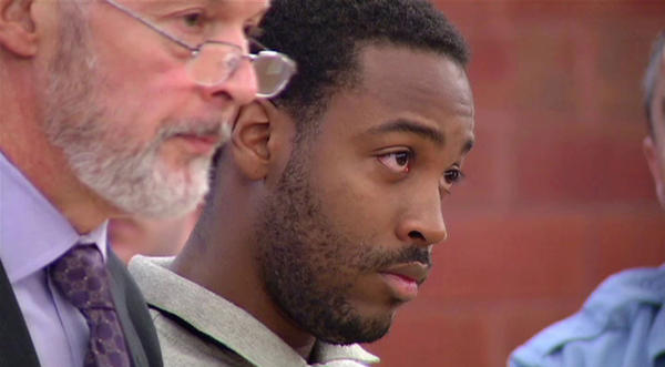 Donald Raynor appears in court in Hartford in June.