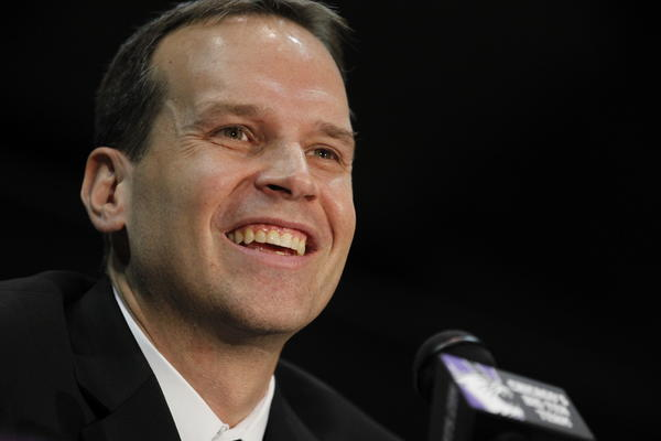 Northwestern basketball coach Chris Collins once was a Bulls ball boy.