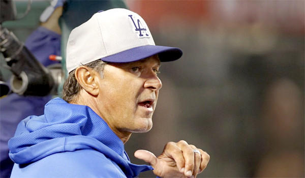 Dodgers Manager Don Mattingly says his job was in jeopardy when the team was slumping earlier this season.