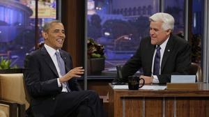 Obama talks Trayvon, Russia, NSA, Hillary 2016 on Leno's 'Tonight'