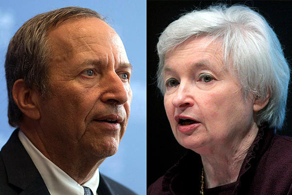 Larry H. Summers is the odds favorite, 4-6, to be the next Federal Reserve chairman, according to an Irish bookkeeping site. Janet L. Yellen's odds are 7-4, according to PaddyPower.com