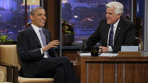 Obama visit boosts ratings for 'Tonight Show With Jay Leno'