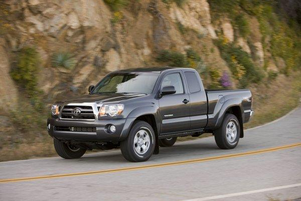 Toyota is recalling roughly 342,000 Tacoma Access Cab trucks from the 2004 through 2011 model years to fix an issue with the seat belts.