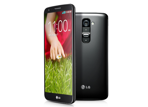 The LG G2 has no buttons on the side. Buttons used to control the power and volume, normally found on the side of phones, have been moved to the rear. LG says the change should lead to fewer dropped phones.