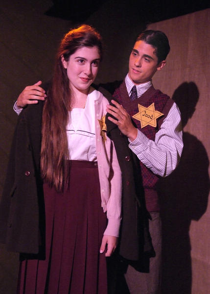 """Valerie Rose Lohman and Nick Reilly star in """"The Diary of Anne Frank"""" at NoHo Arts Center."""