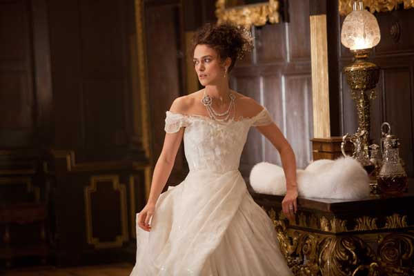 "Russian heroine ""Anna Karenina"" is portrayed by Keira Knightley, Saturday, on HBO."