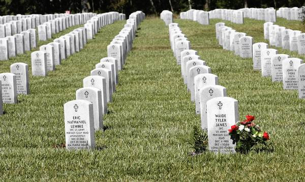 One of last year's anti-Semitic incidents reported occurred at the Florida National Cemetery in Bushnell, the closest military cemetery to Orlando.