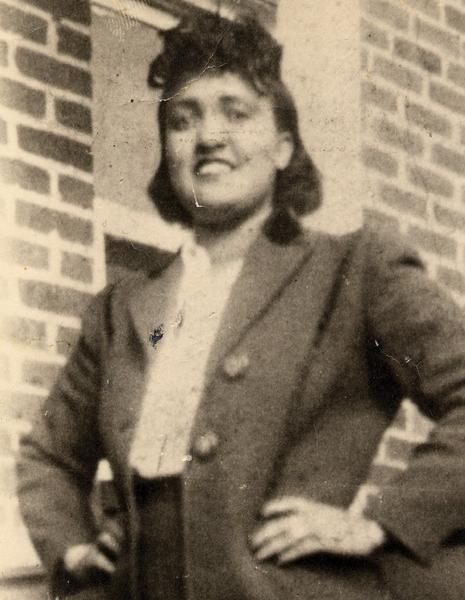 A 1951 cervical tissue sample taken from Henrietta Lacks, shown here in a 1940s photo, became the first human immortal cell line -- and the one most widely used today. Now, the NIH has come to an agreement that allows for continued medical research while seeking to protect the family's privacy.