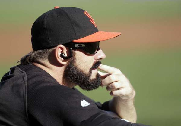 The rivalry between the Dodgers and Giants means little to Brian Wilson.