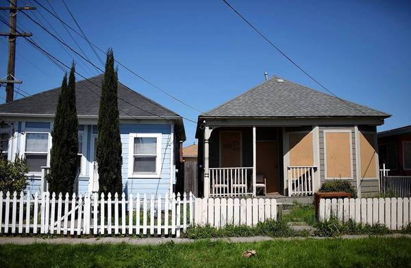Richmond, Calif., which was hit hard by the mortgage crisis, announced last week that it had asked the holders of more than 620 underwater mortgages to sell the loans to the city at a discount. Above, Richmond homes.