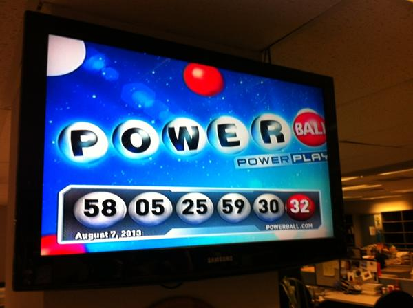 The winning numbers selected Wednesday night were 58, 5, 25, 59, 30 and Powerball 32.