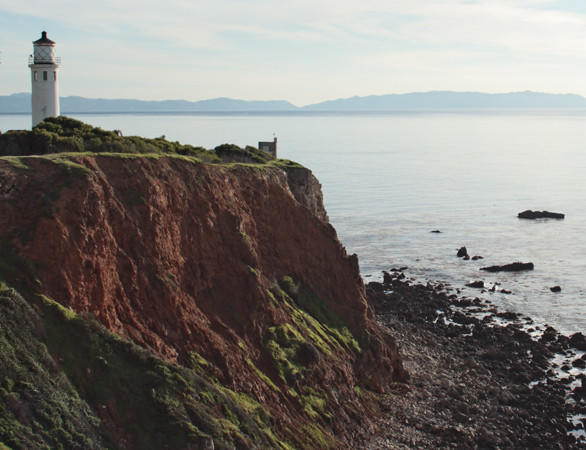 The Point Vicente Lighthouse in Rancho Palos Verdes is operated by the U.S. Coast Guard and allows the public to visit the second Saturday of the month.